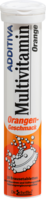 ADDITIVA Multivit.Orange R Brausetabletten